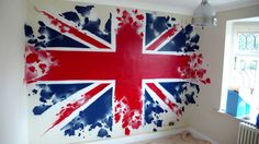 union jack bedroom - Google Search