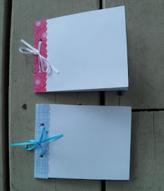 Autograph Books for the last week of school.