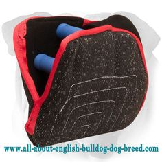 #French #Linen #English #Bulldog #bite #developer with 2 hard handles $79.90 | www.all-about-english-bulldog-dog-breed.com