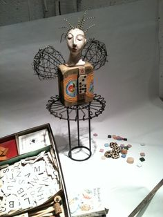 Art Doll with wire