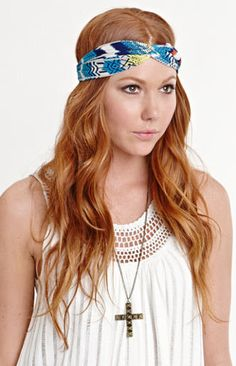 #PacSun                   #love                     #With #Love #From #Blue #Tribal #Headwrap #PacSun.com                         With Love From CA Blue Tribal Headwrap at PacSun.com                                                    http://www.seapai.com/product.aspx?PID=1392559
