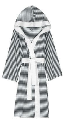 """Features:  -Kimono style robe.  -Three-quarters length sleeves.  -Convenient attached belt.  -Pocket: No.  Material: -100% Cotton. Dimensions:  -Depth: 0.2"""".  Overall Product Weight: -1.5 lbs.  --Give"""