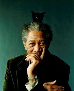 Dios, Presidente, Mayordomo y Chofer: Morgan Freeman, por Peggy Sirota