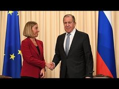 Lavrov Holds Joint Press Conference With Mogherini