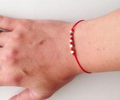 Red String Kabbalah Bracelets Handmade Anti by BannerDesignShop, $3.85