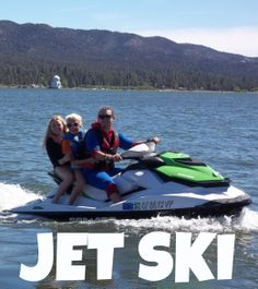 Jet Ski - Jet skiing is an activity at Pali Adventures #summercamp on Big Bear Lake! http://www.paliadventures.com/electives/jet-ski-at-summer-camp/