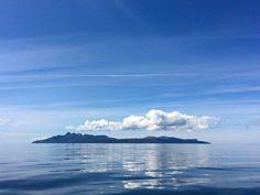 Isle of Rum - send in the clouds, Scotland.