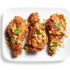Coconut Curry Fried Chicken @keyingredient #chicken #delicious
