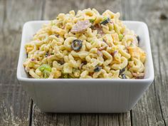 Dunkley's Famous Macaroni Salad with Salami and Cheese