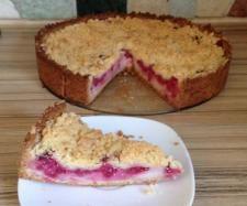 Rezept Träubleskuchen (Johannisbeere) mit Vanille Pudding und Streusel von moggi74 - Rezept der Kategorie Backen süß