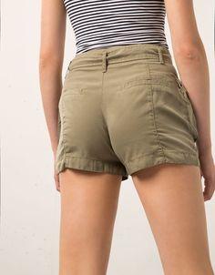 Bershka high waist cargo shorts - Shorts - Bershka Algérie