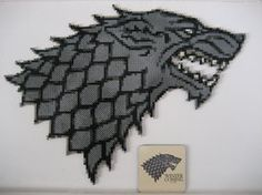 Bead art - Winter Is Coming by detailonly