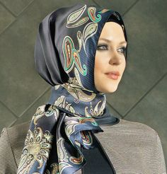 Armine Silk Hijab Fall Winter 2014-2015 #5308 | Modefa USA