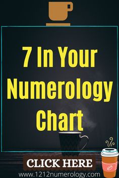 Take a look at your own Numerology reading and you may find the number 7 anywhere! Perhaps you have a Life Path number 7, as explained above, or maybe it's your Expression number, Destiny number, Soul Urge number, or Birth Day number. The more number 7s you have in a reading, the more you'll feel its wise and spiritual influence! Life Path Number 7, Expression Number, Number Patterns, Numerology Chart, Destiny, Birth, Spiritual, Feelings, Reading
