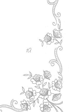 Irresistible Embroidery Patterns, Designs and Ideas. Awe Inspiring Irresistible Embroidery Patterns, Designs and Ideas. Border Embroidery Designs, Floral Embroidery Patterns, Hungarian Embroidery, Hardanger Embroidery, Paper Embroidery, Machine Embroidery Patterns, Hand Embroidery Patterns, Lace Patterns, Vintage Embroidery
