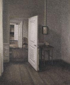 The Four Rooms, 1914, Vilhelm Hammershøi