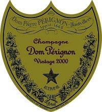 Dom Perignon Champagne Cuvee Vintage 2000