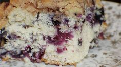 Blueberry buckle. I make this at least twice when blueberries are in season. Makes a great coffeecake or dessert.