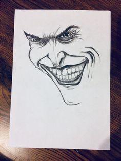 Drawing of Joker