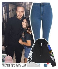 """""""Meeting fans with Liam"""" by lottieaf ❤ liked on Polyvore featuring Topshop, Chicnova Fashion, County Of Milan, adidas Golf, adidas, OneDirection and LiamPayne"""