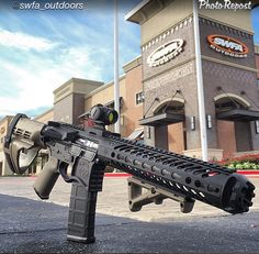 Just another awesome build featuring the Strike Industries Cookie Cutter Comp! Photo credit: South Western Fire Arms