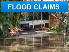 commercial adjuster flood damage claim