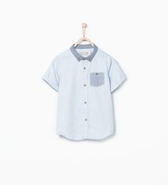 ZARA - PROMOCIJA - Shirt with pocket detail