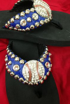 Hey, I found this really awesome Etsy listing at http://www.etsy.com/listing/128510451/baseball-flip-flops