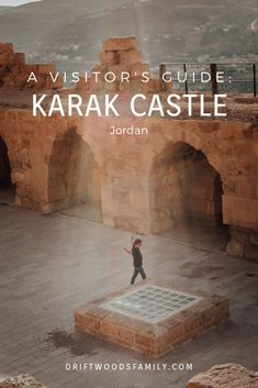 Karak Castle is the most famous Crusader Castle in Jordan and the perfect stop on a road trip down the ancient King's Highway. Travel With Kids, Family Travel, Places To Travel, Places To See, Jordan Travel, Love Run, Eyes On The Prize, Kingdom Of Heaven, Travel Goals