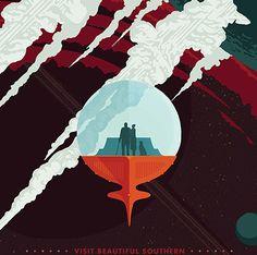 Энцелад — шестой по размеру спутник Сатурна — геологически активен: это одно из трех небесных тел во внешней Солнечной системе где наблюдались активные извержения. В 2015 году на Энцеладе обнаружили горячие гейзеры, на которые НАСА и предлагает полюбоваться туристам.