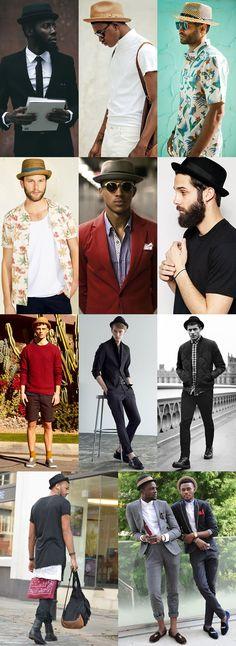 Men's Pork Pie Hat Outfit Inspiration Lookbook