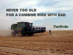 Combine rides with dad