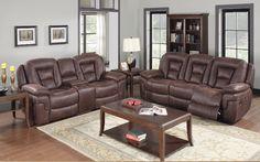 The Braxton dual reclining Sofa set