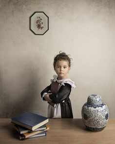 Photographer Bill Gekas Shoots Portraits of his Daughter in the Style of Classic Paintings