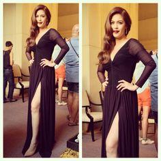 .@Myrrh Larsen Lao To | Sexy @inagm #shainamagdayao in a custom made @hautelifestylemanila dress for ... | Webstagram - the best Instagram viewer