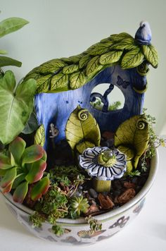 Fairy gardening by Petal Echo
