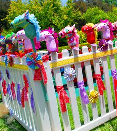 Down On The Farm Party Take-Homes! My little pony party