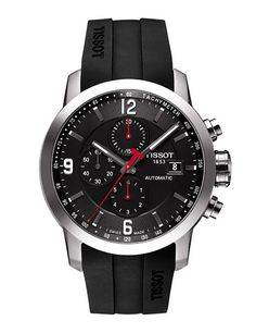 54db233a0a0 TISSOT PRC 200 Automatic Chronograph The Tissot PRC 200 is a popular range  of… - all black mens watch