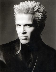 God bless Billy Idol, his good looks and fabulous snarl!! Made great music and rocked!