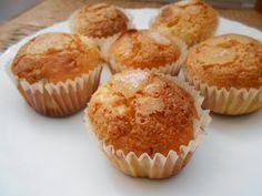 426° receta: MAGDALENAS DE NARANJA TRADICIONALES - Mayte en la cocina