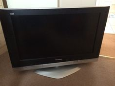 panasonic viera flat screen tv. panasonic viera flat screen tv with power cord and remote. unfortunately the stand not included. tv i