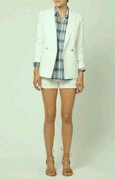 Steven Alan jacket + short