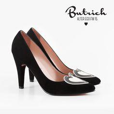 <3 zapato *Kelly* negro <3 Alter Ego / Butrich <3 #corazón #corazones #zapatos #shoe #heart