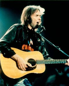 Neil Young. Constitution Hall Washington, DC. 1997