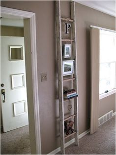 old+ladder+ideas | DIY project and photo credit to craftsbyamanda.com