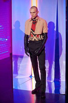 JEAN PAUL GAULTIER AUTOMNE-HIVER 2013-2014 Paris Jean Paul Gaultier, Jeans, 2013, Wicked, Paris, John Wick, Fictional Characters, Fall Winter, Fantasy Characters