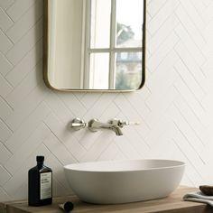 Billedresultat for fired earth architecture white tile