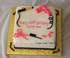 Birthday cake ideas for adults women pretty kids 23 ideas Birthday Cake Ideas For Adults Women, Adult Birthday Cakes, Cool Birthday Cakes, Birthday Gifts For Kids, Happy Birthday, Crazy Cakes, Fancy Cakes, Hair Stylist Cake, Cosmetology Cake