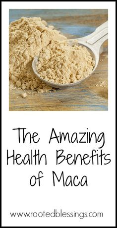 Maca powder is a superfood that has the most amazing benefits. Check out this post on why you need it in your natural foods stash. Adrenal Diet, Adrenal Health, Adrenal Fatigue, Maca Health Benefits, Natural Health Tips, Natural Foods, Healthy Pregnancy Diet, Fertility Smoothie, Healthy Life