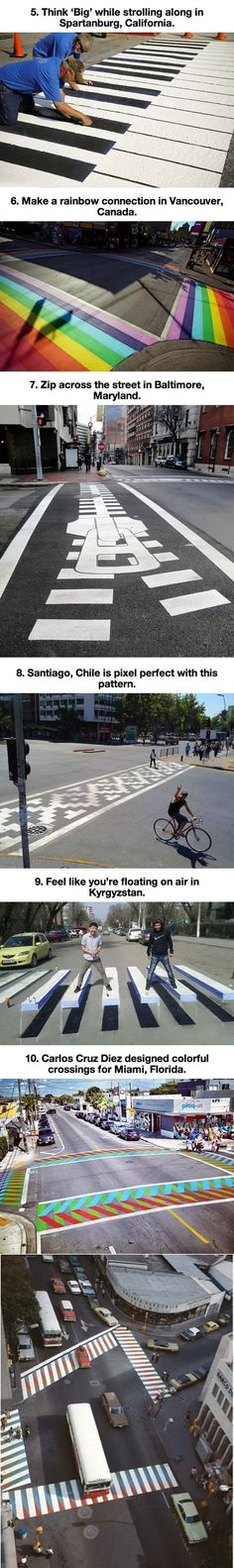 Crosswalk artwork